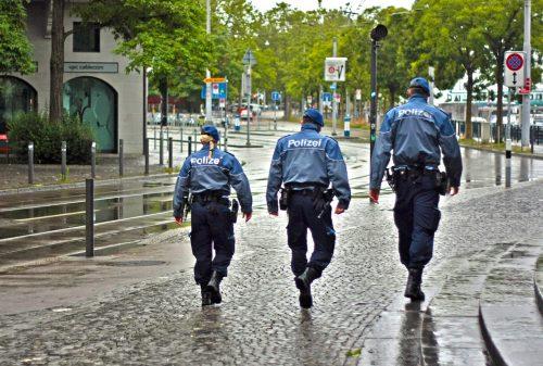 Le métier de gardien de la paix