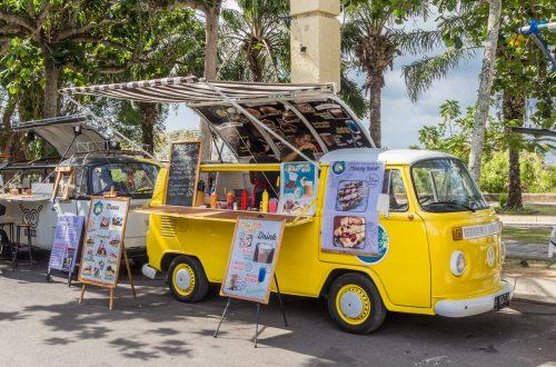 vente dans un food truck