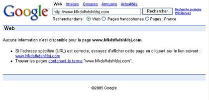 Google Inconnu
