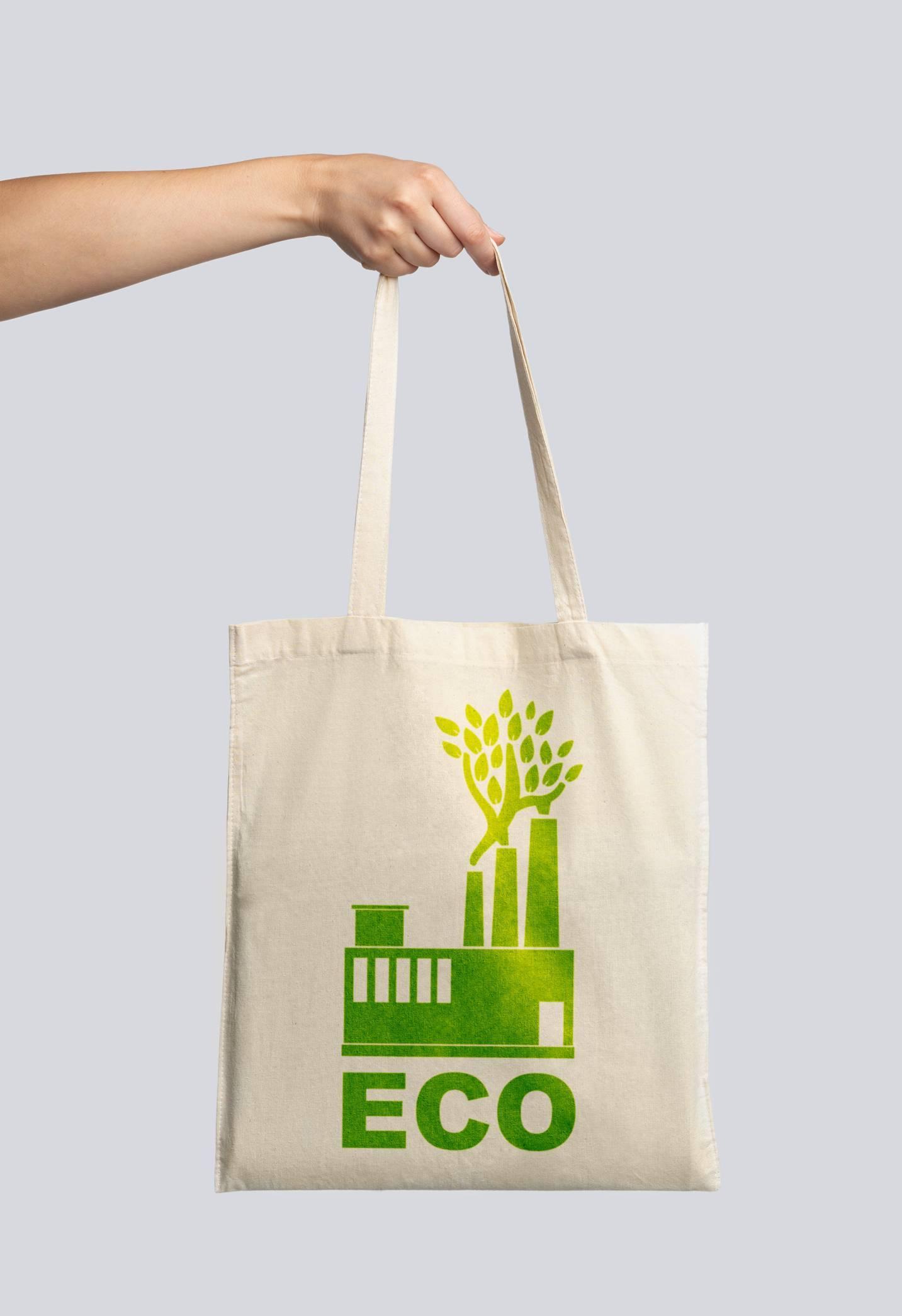 Le sac publicitaire permet de diffuser sa marque à moindre coût.