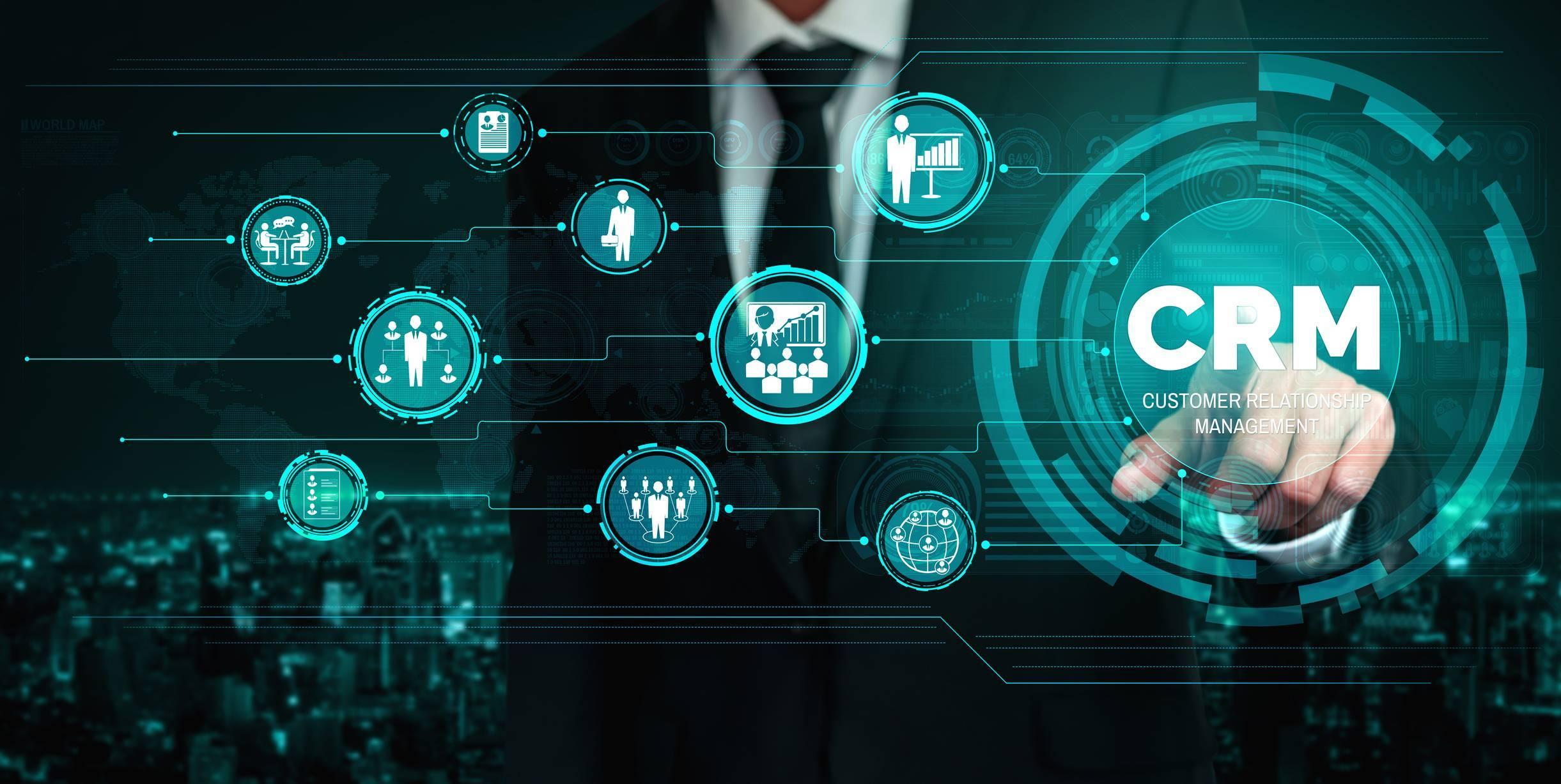 Le CRM permet d'optimiser le fonctionnement du service commercial.